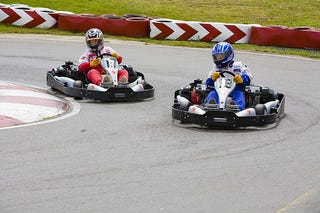 Illustration for article titled I'm go Karting today.
