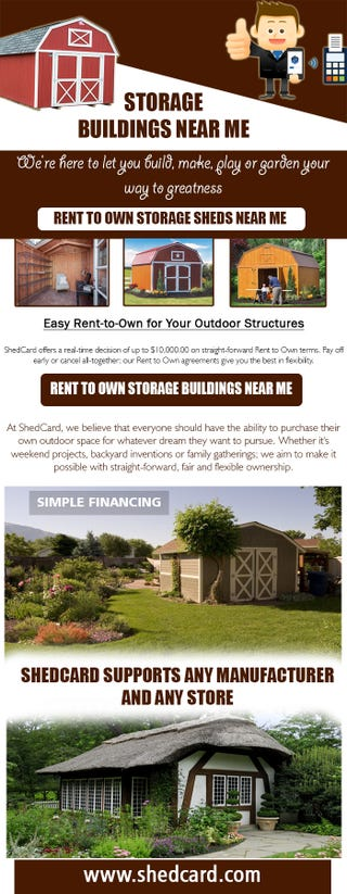 Illustration for article titled Rent To Own Storage Sheds Near Me