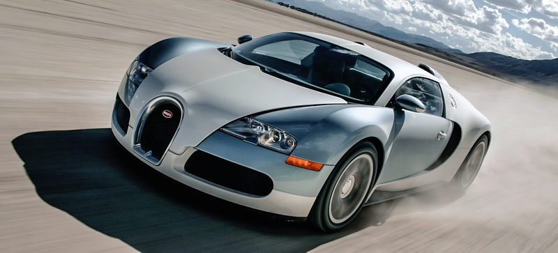 Why Buy Three Private Islands When You Can Buy This Used Bugatti Veyron?