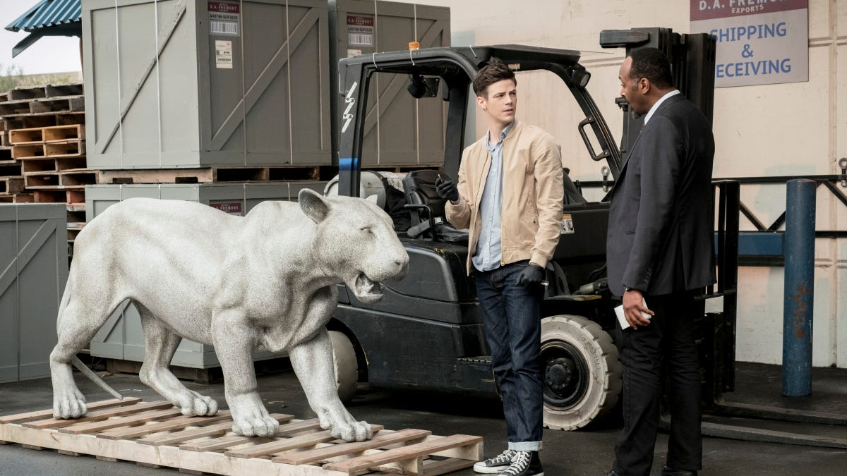 The Flash strains for laughs in the season's first clunker