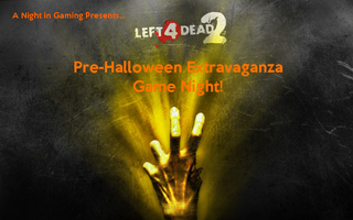 Illustration for article titled Left 4 Dead 2 Pre-Halloween Extravaganza Game Night!