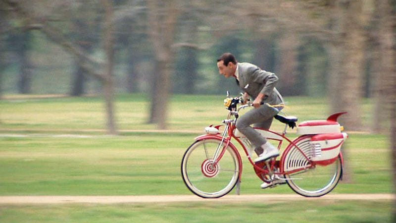 Illustration for article titled Here's what Pee-wee Herman's Big Adventure bike sold for