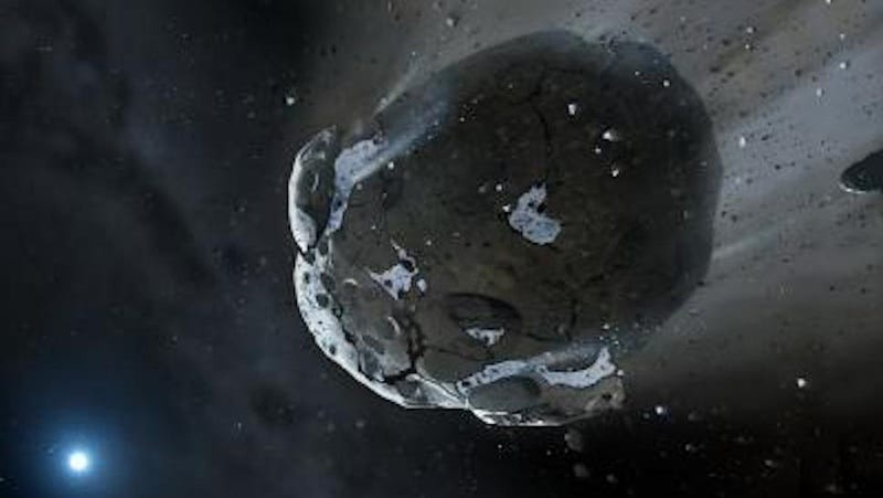 Illustration for article titled Scientists Found the Remains of a Water-Covered Earth-Like Planet