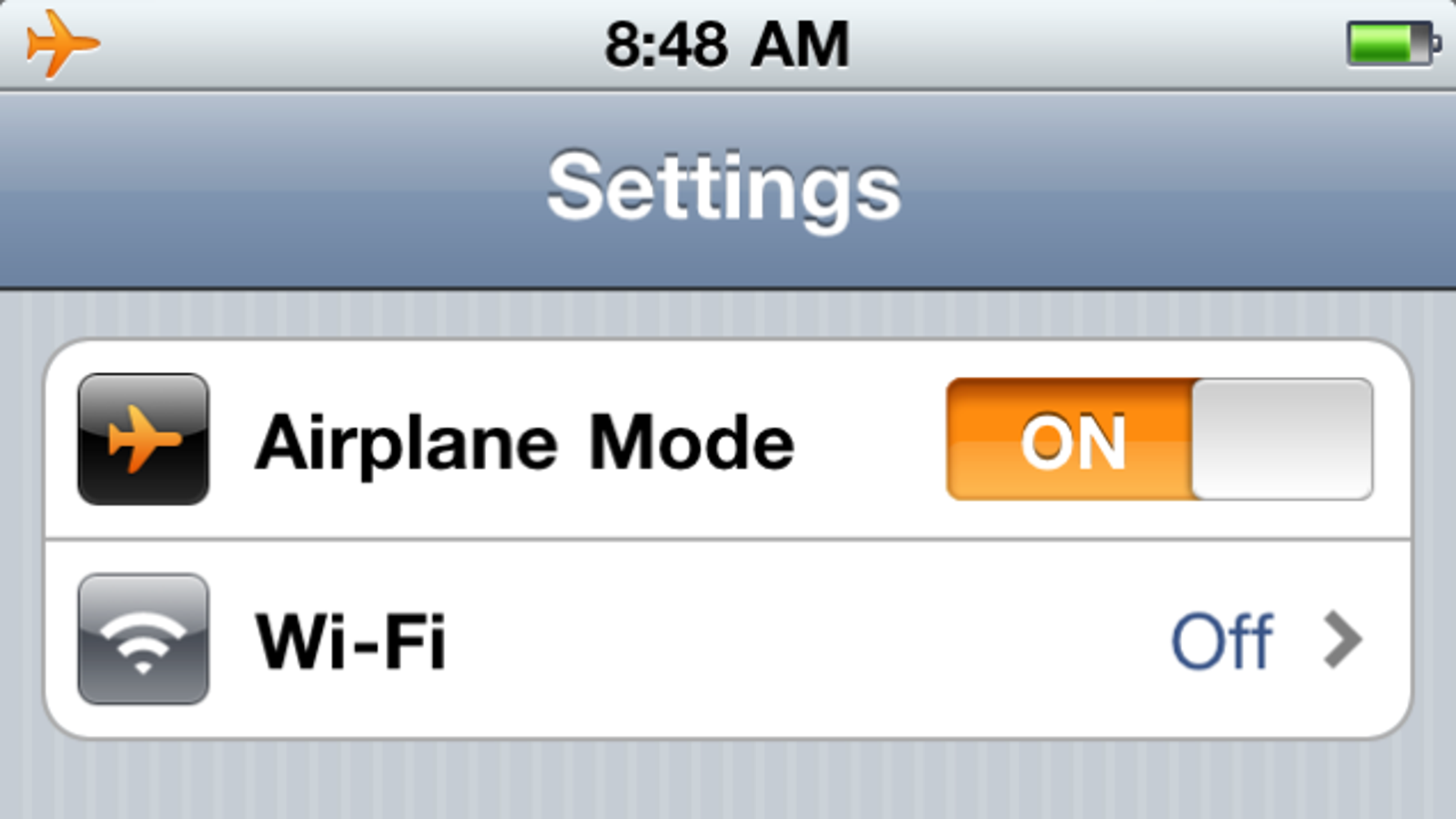Whats the point of airplane mode