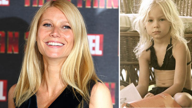 Illustration for article titled Gwyneth Paltrow Tsk-Tsked for Shilling Kiddie Bikinis
