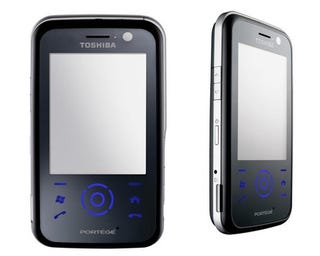 Illustration for article titled Toshiba G810 Windows Mobile Smartphone Looks Like the HTC Touch