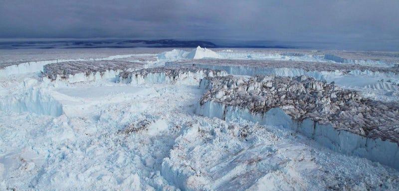 Illustration for article titled El rápido colapso de este enorme glaciar podría subir el nivel del mar medio metro