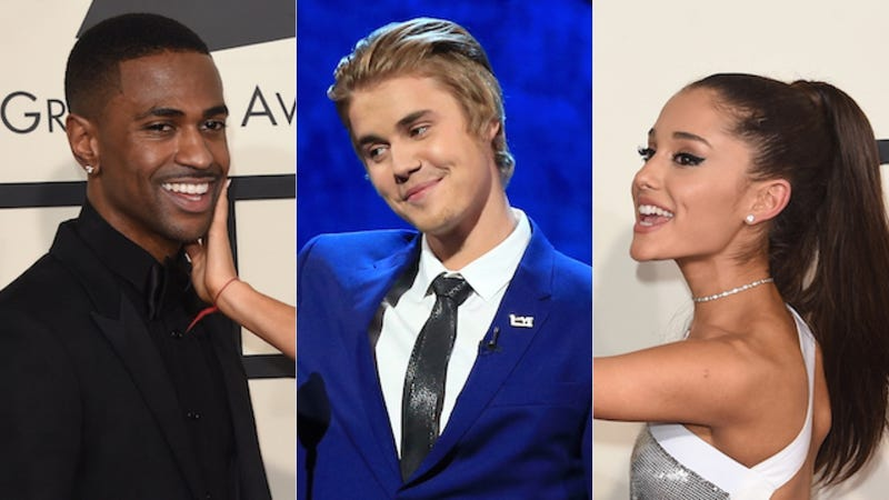 Illustration for article titled Both Theories About the Ariana-Big Sean Breakup Involve Justin Bieber