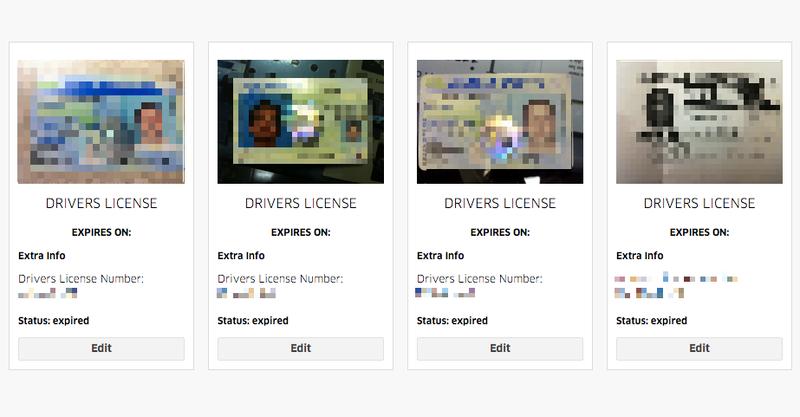 Illustration for article titled Uber filtra datos personales y licencias de casi mil conductores afiliados a su servicio