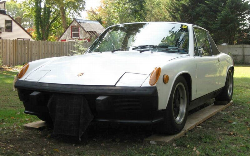 Illustration for article titled For $6,000, Could This 1974 Porsche 914 Have You Going Hmmmmmm?