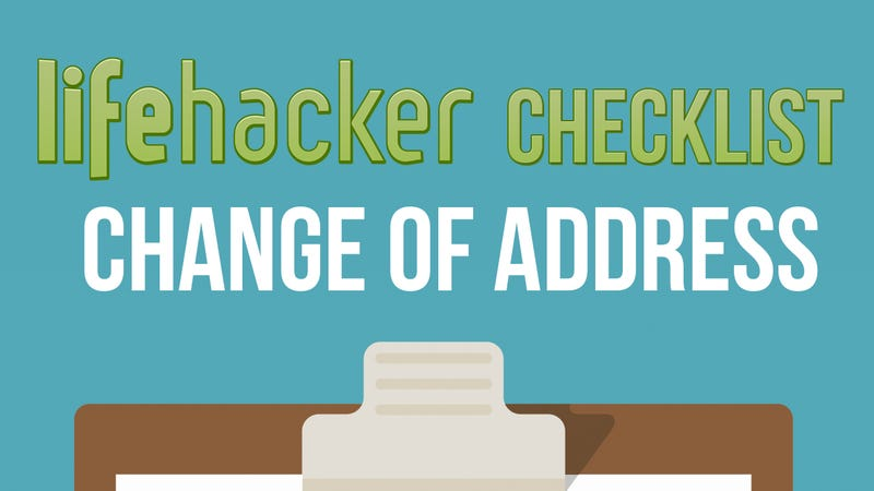 change your address everywhere on this printable checklist when you move