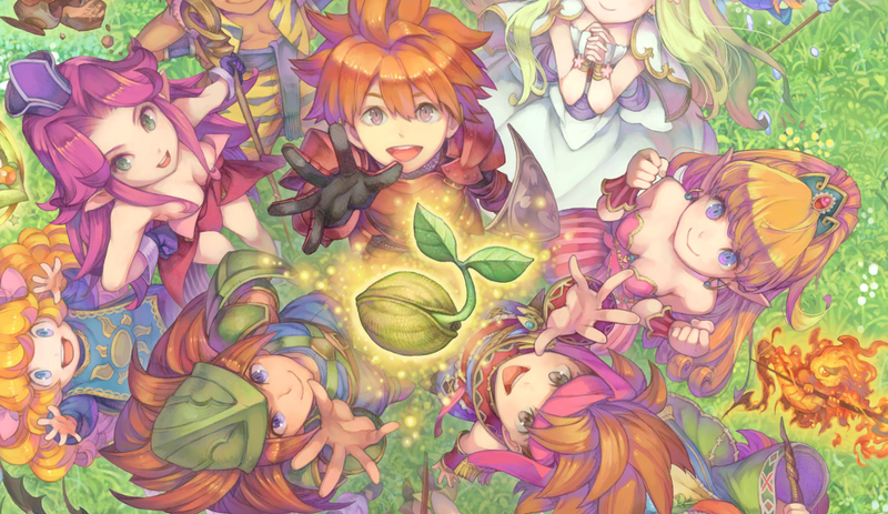 Square Enix Announces Seiken Densetsu Collection for the Nintendo Switch