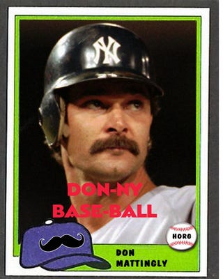 Illustration for article titled Hall of Really Good #1: Don Mattingly