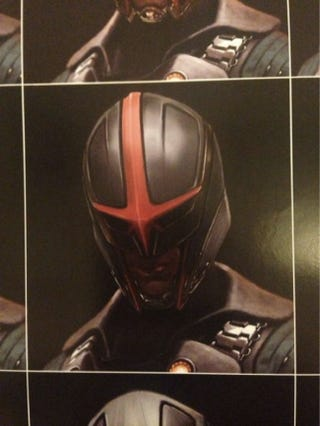 Illustration for article titled Nova Concept Art Reveals The One Character You Didn't See in GOTG