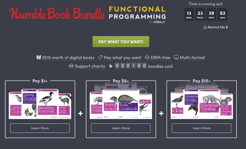 Functional Programming Humble Bundle | Humble