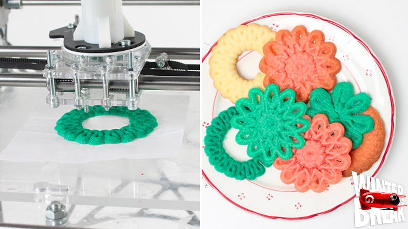 Illustration for article titled Christmas Cookies Are the Best Use of 3D Printing Yet
