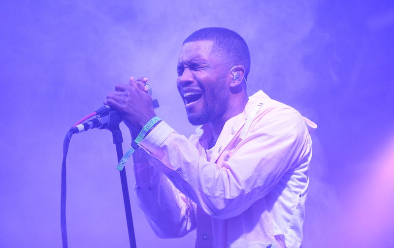 Frank Ocean at the Bonnaroo Music & Arts Festival on June 14, 2014, in Manchester, Tenn. (Jason Merritt/Getty Images)