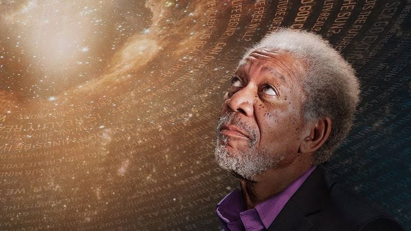 Illustration for article titled Morgan Freeman on econophysics, Easy Reader, and The Shawshank Redemption