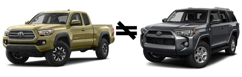 The Tacoma And The Runner A Tale Of Trucks - 4runner truck