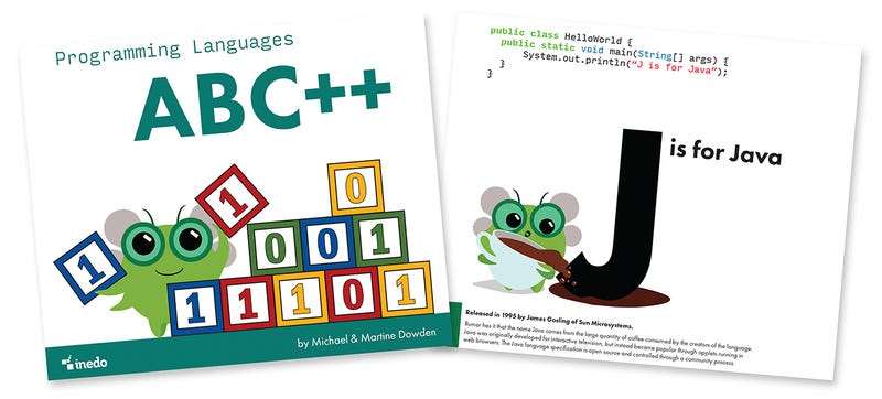 Illustration for article titled A Programming Languages Alphabet Book Could Spark an Interest in Coding