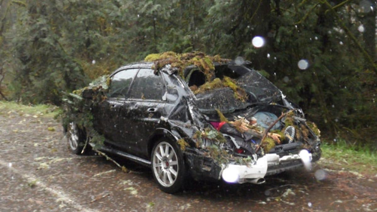 How a modified Subaru STI saved three lives