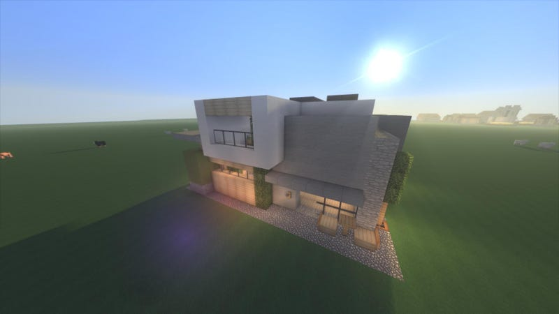 a fun new way to build in minecraft chunk houses