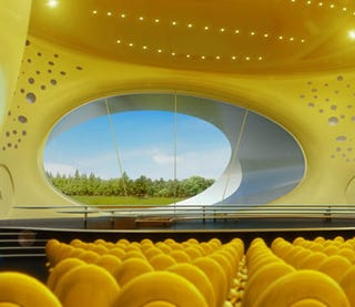 Illustration for article titled Concert Hall Slated For the Czech Republic Looks Like an Alien Organism