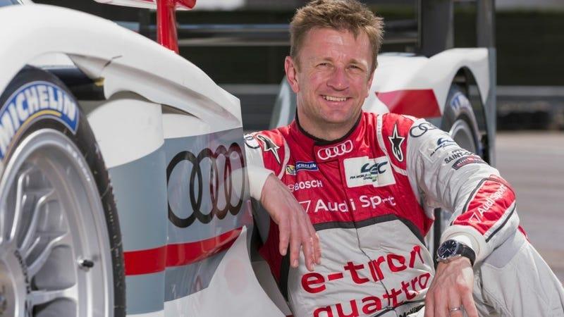 McNish in his Audi LMP1 days. Photo credit Audi