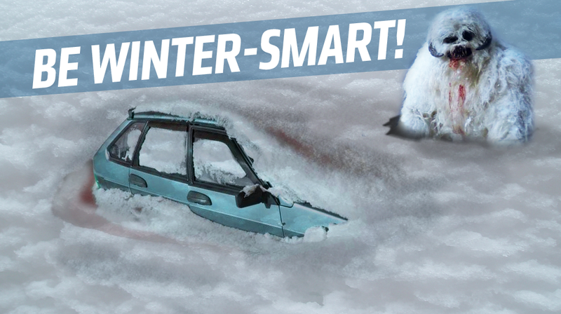 Illustration for article titled Top Six Winter Driving Tips!