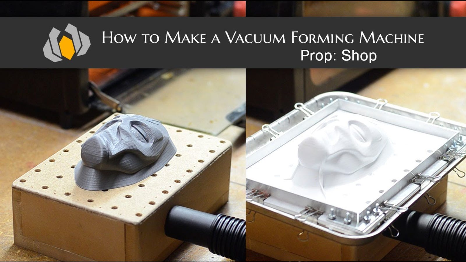 Here's How To Make A Vaccuforming Machine