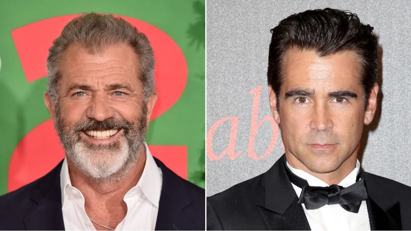 Illustration for article titled Mel Gibson and Colin Farrell are War Pigs, beggin' mercies for their sins