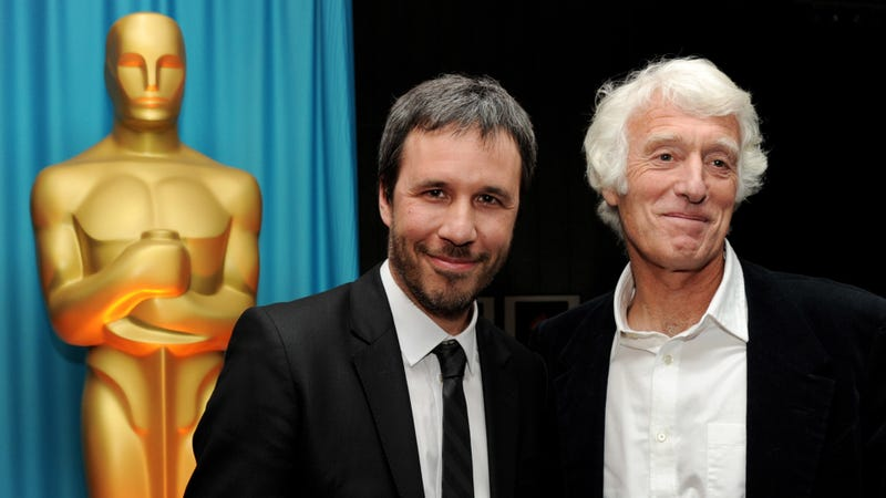 Denis Villeneuve and Roger Deakins in 2011