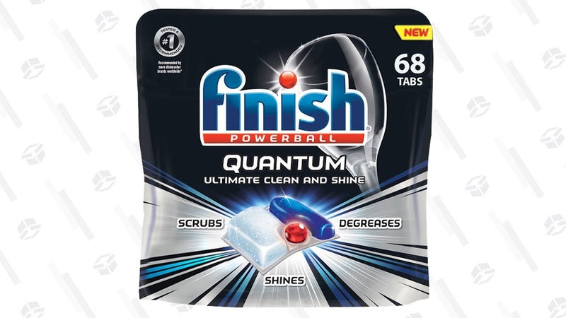 Finish Quantum Powerball Dishwasher Tab 68-Pack | $11 | Amazon | Clip the $3 coupon