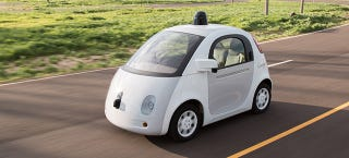 Illustration for article titled Google Begins To Issue Monthly Reports On Self-Driving Cars