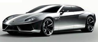 Illustration for article titled Lamborghini Estoque Four-Door Concept, Revealed!