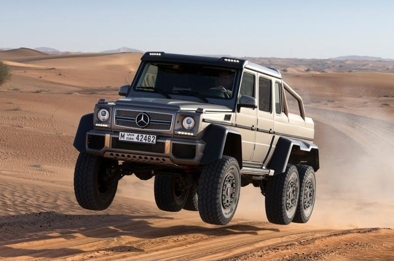 Illustration for article titled Not a single AMG 6x6?!