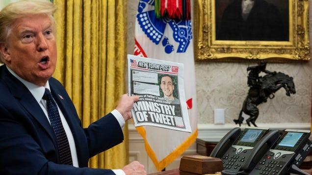 Trump s Executive Order on Social Media Is the Worst Kind of Bullshit