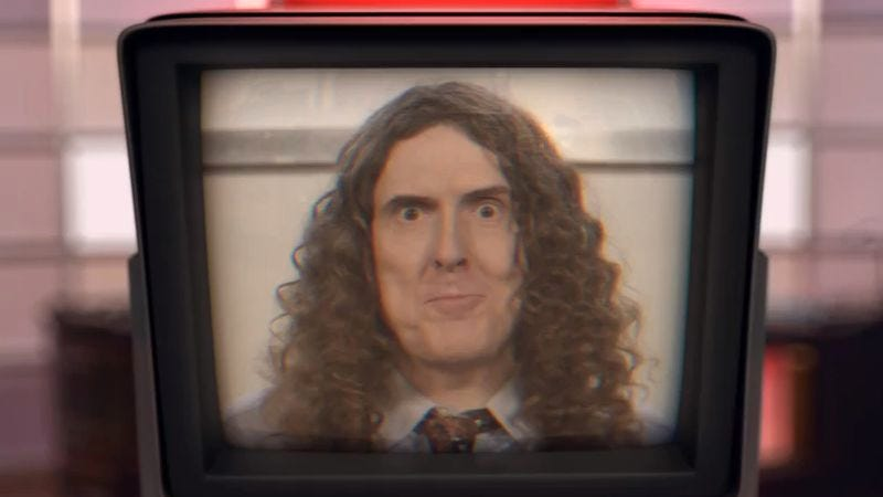 """Illustration for article titled """"Weird Al"""" Yankovic pays tribute to Lorde and aluminum foil in newest video"""