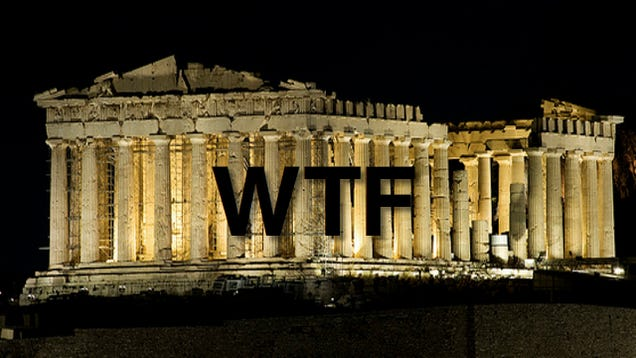 The Jerks Who Bombed the Parthenon