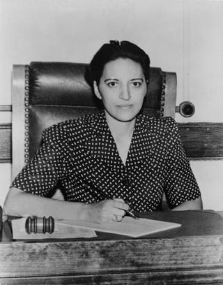 Judge Jane Bolin in 1942Wikimedia Commons