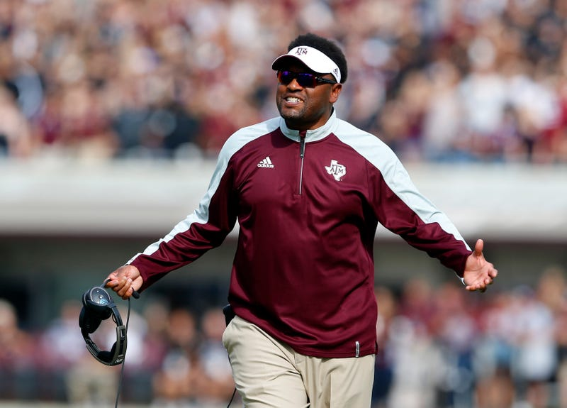Texas A&M head coach Kevin Sumlin  (Butch Dill/Getty Images)