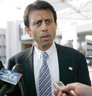 Illustration for article titled Bobby Jindal Seeks To Stave Off Another Hurricane By Eliminating Gay Rights