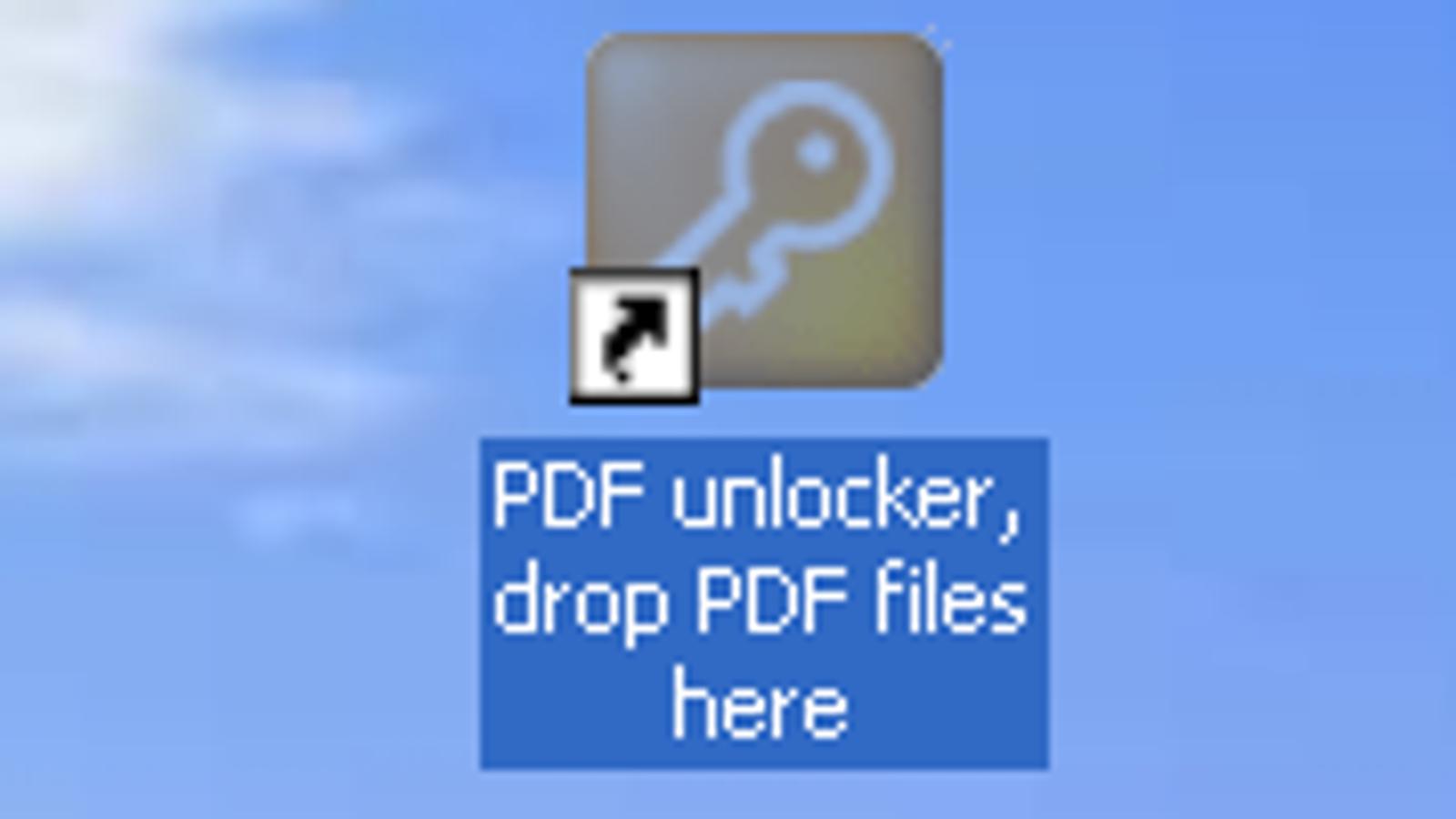 Freeware PDF Unlocker Enables Copy/Paste Functions Without Passwords