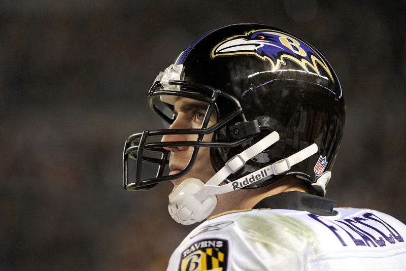 Illustration for article titled Joe Flacco: 'Before You Get Too Impressed, I Intend To Throw For Only 60 Yards Next Week'