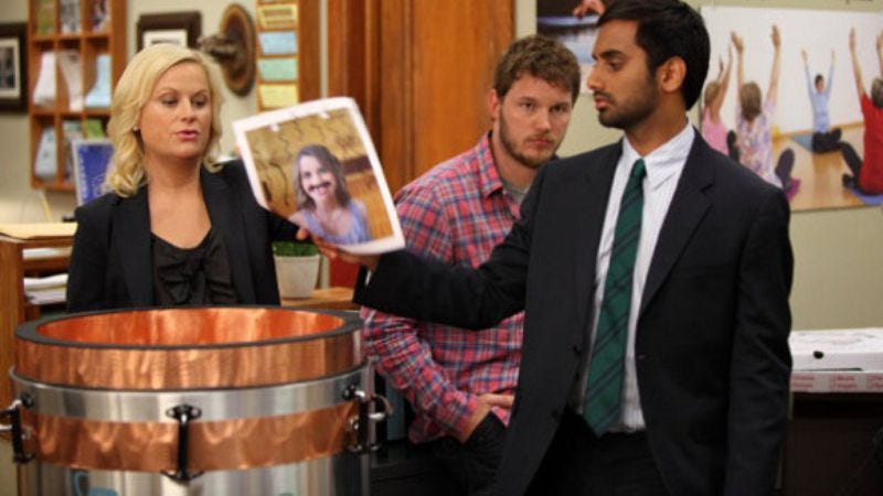 """Illustration for article titled Parks And Recreation: """"Time Capsule"""""""