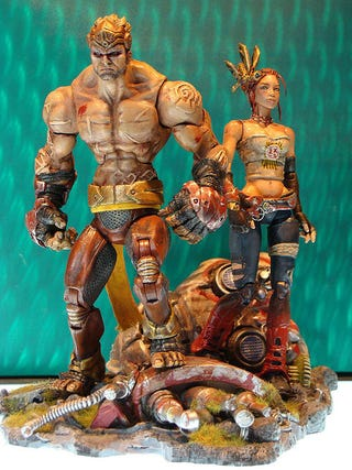 Illustration for article titled Enslaved Action Figures Look As Dirty As The Apocalypse