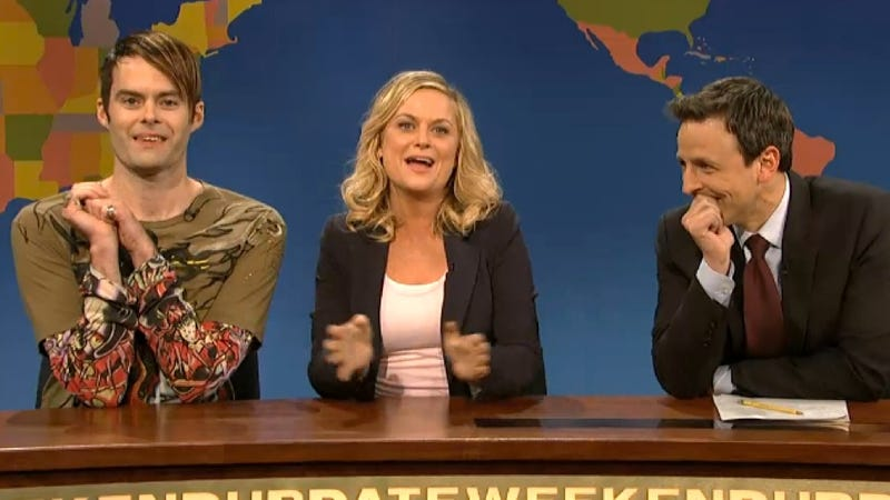 Illustration for article titled Stefon's Appearance on Seth Meyers's Last Weekend Update Was Bittersweet