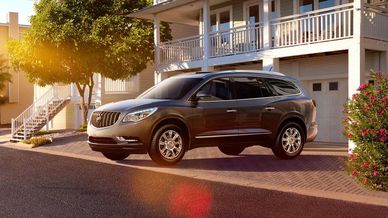 Illustration for article titled Why do the parents of America choose the Buick Enclave?
