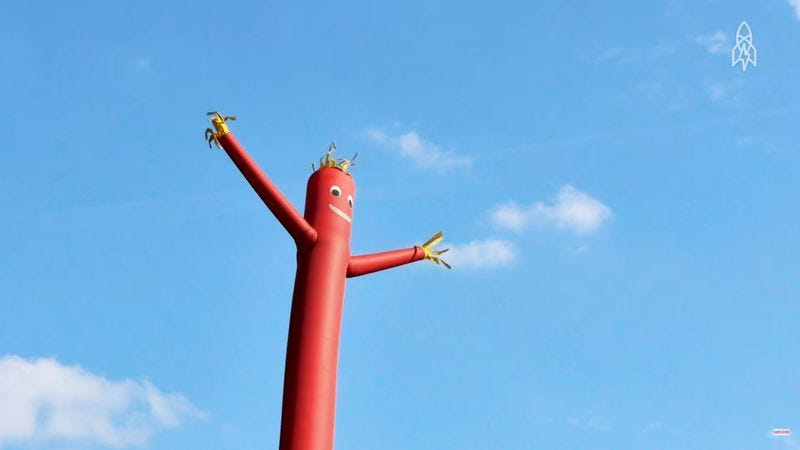 the olympic origins of those wacky waving inflatable arm flailing tube men. Black Bedroom Furniture Sets. Home Design Ideas