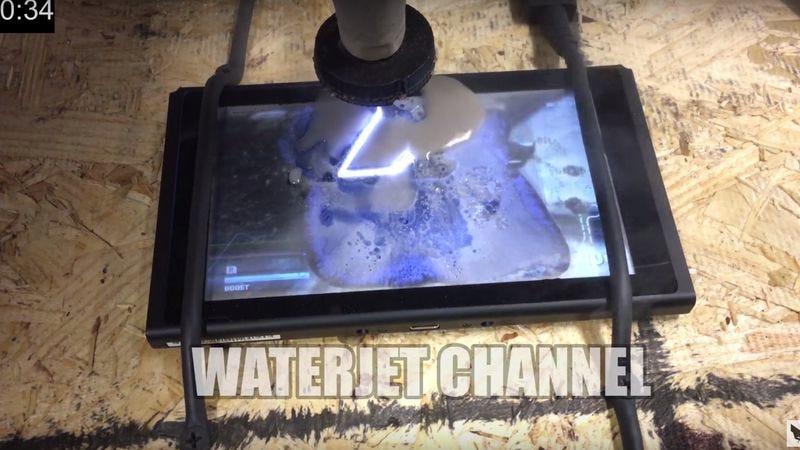 Photo: Waterjet Channel